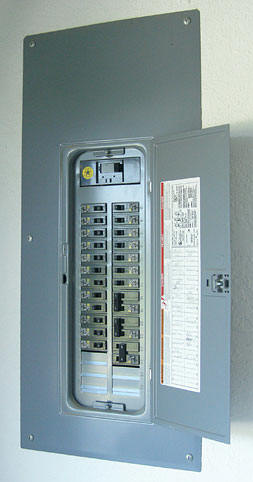Upgrading An Electrical Panel on relocating electrical panel, replacing electrical panel, expanding electrical panel,
