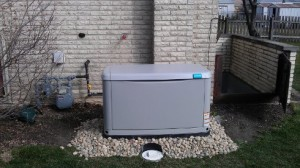 14 kW Standby Generator installed in Westchester, IL