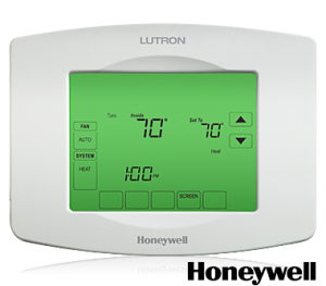 Lutron RadioRA2 TouchPRO Thermostat